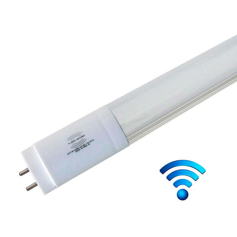 T8 LED tube, 18W, 120cm, frosted, 20-100% light